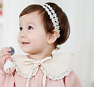Baby Girl's Lace Flower Lace Up Headband Hair Jewelry