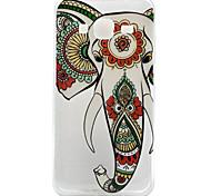 High Quality TPU Elephant Pattern Soft Phone Case for Samsung Galaxy J3