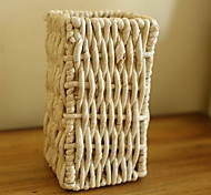 European Pastoral Modern Fashion Rattan Wicker Vase