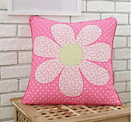 Pujiang Garment Made Of Pure Cotton Cushion Cover Cloth Embroidered Pillowcase