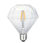 G125 Diamond LED Edison Light Bulb Scene Retro Energy Saving 220V 4W 2300K E27 (Warm Yellow)