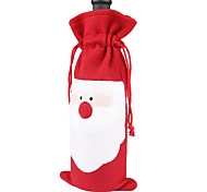 3PCS 2016 New Hot Santa Claus Christmas Gift Wine Bottle Gift Sets Decoration