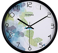 Modern/Contemporary / Casual Family Wall ClockRound Metal 20*20*3 Indoor/Outdoor / Indoor / Outdoor Clock