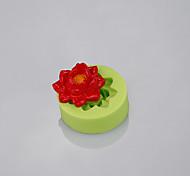 Fondant цветы плесень использовали фондант торт fimo глина конфеты плесень инструменты кухонные аксессуары цвет случайный