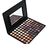 88 Palette de Fard à Paupières Sec Fard à paupières palette Poudre Grand Maquillage Quotidien