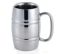 Bar Ktv Special Stainless Steel Beer Cup / Stainless Steel Cups / Double Stainless Steel Beer Mug