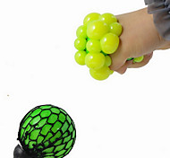 Creative Cute Anti Stress Face Reliever Grape Ball Autism Mood Squeeze Relief Healthy Funny Vent Toy (Color Random)