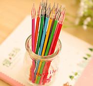 Color Diamond Head Neutral Pen(10PCS)