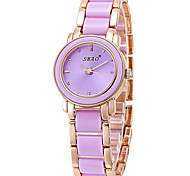 Women's Fashion Quartz Ceramic Casual Watch Cool Watch Unique Watch Small Cute Round Dial Classic Watch