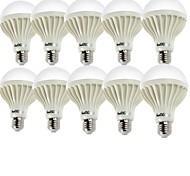 5W E26/E27 Bombillas LED de Globo A60(A19) 9 SMD 5630 400 lm Blanco Cálido / Blanco Fresco Decorativa AC 100-240 V 10 piezas