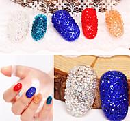 500pcs Nails DIY Rhinestones Micro Diamond Crystal 3D Nail Art Decoration Tiny Mini Pixie Rhinestone
