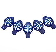 juego de 5 pelota de golf alineación