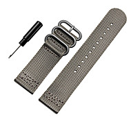 Luxury Nylon Strap Watchband Replacement Watch Wrist Band 3 Ring Lugs For Suunto Core Watchband Wristband