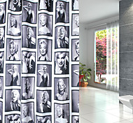 180*200cm Elegant Scenery  Design Waterproof Bathroom Fabric Shower Curtain