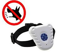 Dog Bark Collar Anti Bark / Ultrasonic / Electronic/Electric Solid White Nylon / Plastic