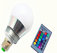 AC85-265V 10W RGB Remote Control Color LED Smart Bulb 1Pc