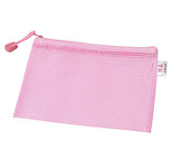 Multi Color Mesh File Bag / Zipper Bag
