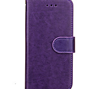 KARZEA Solid Color TPU and PU Leather Wallet Case with Stand for Apple iPhone7/iPhone 7 Plus