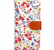 Per Custodia iPhone 7 / Custodia iPhone 7 Plus / Custodia iPhone 6 A portafoglio Custodia Integrale Custodia Fiore decorativo Resistente