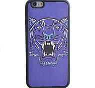 Leopard Head Pattern Silk Material Pattern TPU Phone Case For iPhone 6s 6 Plus