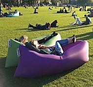 Outdoors Fast Inflatable Sofa Portable Outdoor Camping Air Sofa Folding Garden Sofa Garden Furniture Ramdon Color