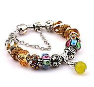 Luxury Bracelet Bohemian Diy Crystal Beads Metal Bracelet Bracelet Manchette Femme Christmas Gifts