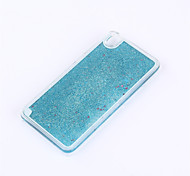 Back Cover Flowing Quicksand Liquid Solid Color PC Hard Case Cover For OPPO OPPO R9 OPPO R9 Plus