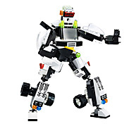 Building Blocks For Gift  Building Blocks Model & Building Toy Car / Robot Plastic Above 6 Black / White Toys