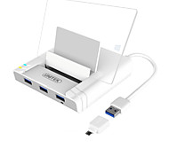 UNITEK USB 3.0 3 Port Hub 3  OTG Adapter  RJ45 10/100/1000 Gigabit Ethernet Adapter Support BC1.2 Charging