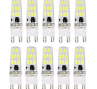 12W G9 2-pins LED-lampen T 16 SMD 5733 900-1000 lm Warm wit / Koel wit Decoratief / Waterbestendig AC 220-240 V 10 stuks