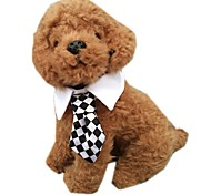 Stylish Checks Pattern Tie for Pets Dogs (Assorted Sizes and Colours)