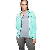 Women's Long Sleeve Sports Jacket Fitness Gym Quaick Dry Tops