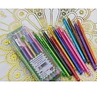 Diamond Head Color Neutral Pen(12PCS)