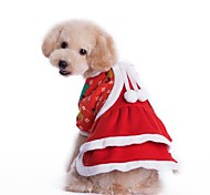 Lovely Christmas Costume Dress for Pets Dogs (Assorted Sizes)