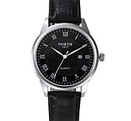 Calendar Watches Men Luxury Brand Quartz Qatch Men Genuine Leather Wristwatches Dive 30m Sport Watch Relogio Masculino