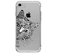 Cat 1 TPU Case For Iphone 7 7plus 6s/6  6plus/6s plus