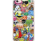 Per Custodia iPhone 6 / Custodia iPhone 6 Plus / Custodia iPhone 5 Ultra sottile / Traslucido Custodia Custodia posteriore Custodia