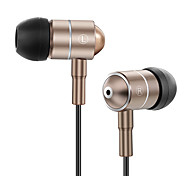 Arkon Artiste I2 Wired Super Bass Earbud MP3 Earphone Earphones with Microphone Universal Running Earphone Gaming Music