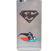 Cartoon Characters HD Pattern Embossed Acrylic Material  TPU Phone Case For iPhone 7 7 Plus 6s 6 Plus