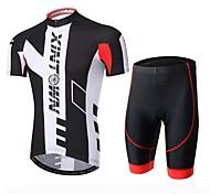 XINTOWN Men Team Short Sleeve Breathable Cycling Jersey & Shorts Set Outdoor Sports Wear S-XXXL
