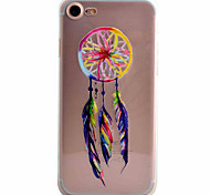 Para Funda iPhone 7 / Funda iPhone 7 Plus Diseños Funda Cubierta Trasera Funda Atrapasueños Suave TPU Apple iPhone 7 Plus / iPhone 7