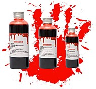 1PC 200ml Halloween Costume Party Artificial Edible Fake Blood plasma The Film And Television Cosplay Makeup