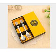 Acier inoxydable 304 Fourchette de table / Set Cuillères / Fourchettes 4 Pièces