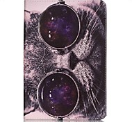 Full Body Card Holder / Wallet Cat PU Leather Hard Case Cover For Apple iPad Mini 4 / iPad Mini 3/2/1