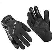 Sahoo Winter Bicycle Full Finger Gloves Men Women Bicycle Bike Cycling Gloves GEL Luvas Bicicleta Guantes Ciclismo