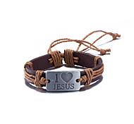 Bracelet Leather Bracelet Alloy
