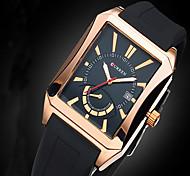 Hombre Reloj Deportivo / Reloj Militar / Reloj de Vestir / Reloj de Moda / Reloj de Pulsera Cuarzo Calendario / Resistente al Agua