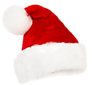 Good Quality Short Floss Christmas Cap