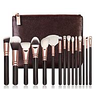 15Contour Brush / Makeup Brushes Set / Blush Brush / Eyeshadow Brush / Lip Brush / Brow Brush / Concealer Brush / Fan Brush / Powder