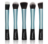 5 Eyeshadow Brush Others Professional / Portable Metal Face / Eye Light Blue
